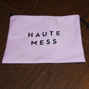Milly Haute Mess Wristlet Pink AS IS